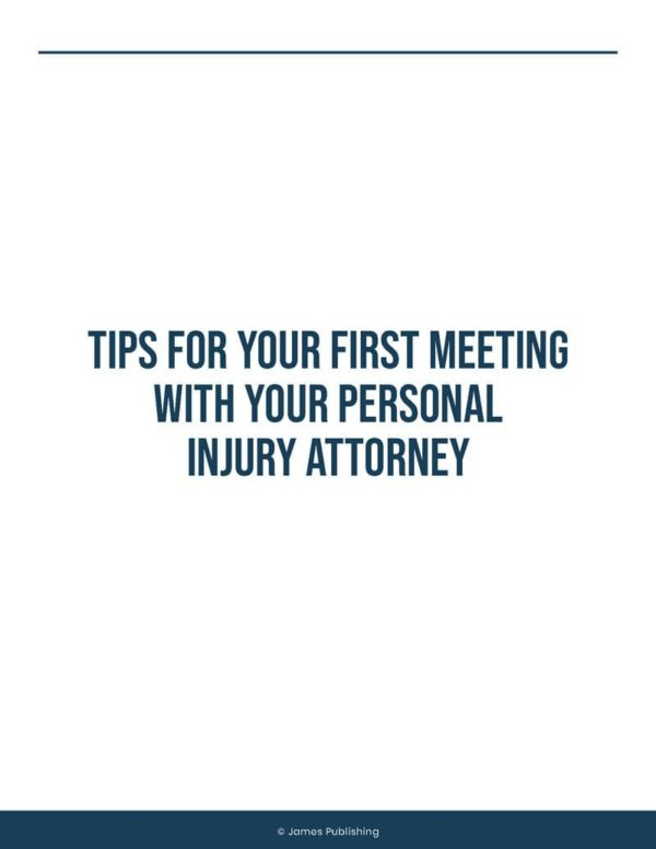 Tips for meeting with lawyer